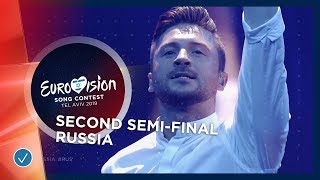 Sergey Lazarev - Scream - Russia - LIVE - Second Semi-Final - Eurovision 2019