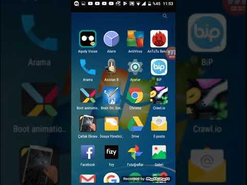 Türkcell T70 kilit ekranı resmi değiştirme