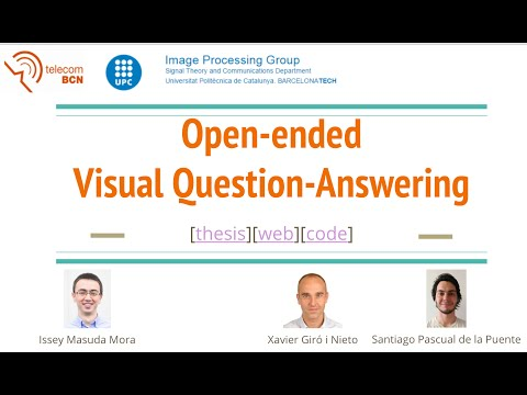 Open-Ended Visual Question Answering (Issey Masuda, UPC 2016)