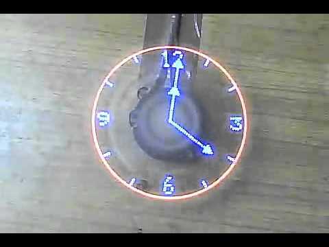 Propeller Fan LED Clock - YouTube
