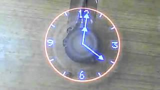 Propeller Fan Led Clock