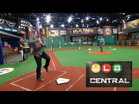 Rays Outfield Home Run Derby in Studio 42