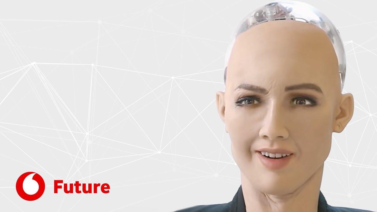Sofia, o robot mais inteligente do mundo | Vodafone Future