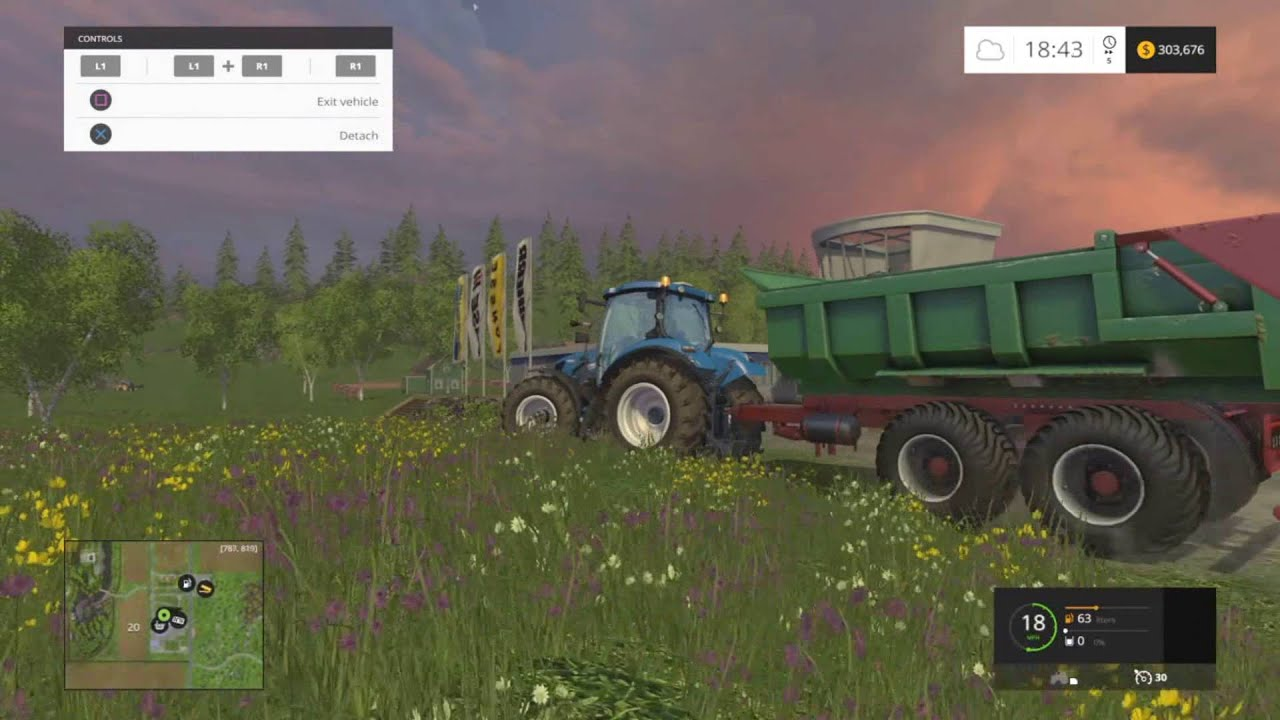 Farming Simulator 2015 (PS4) NEWS - Mod Pack DLC, New Trailers, Tools and  Equipment