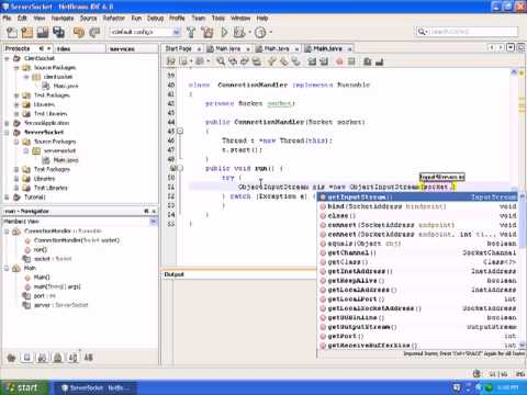 Java network programming client server programming in java for Consul server vs client
