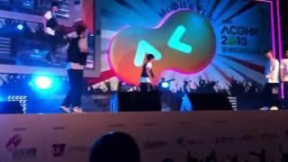 hk dance power smooth boogie double w vs fall in funk 2013 動漫節 freestyle battle 總決賽