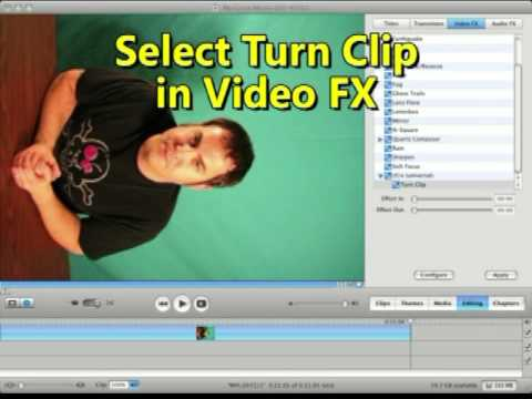 Rotate a video clip in imovie youtube rotate a video clip in imovie ccuart Images
