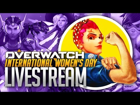 Overwatch Live Stream for International Women's Day!