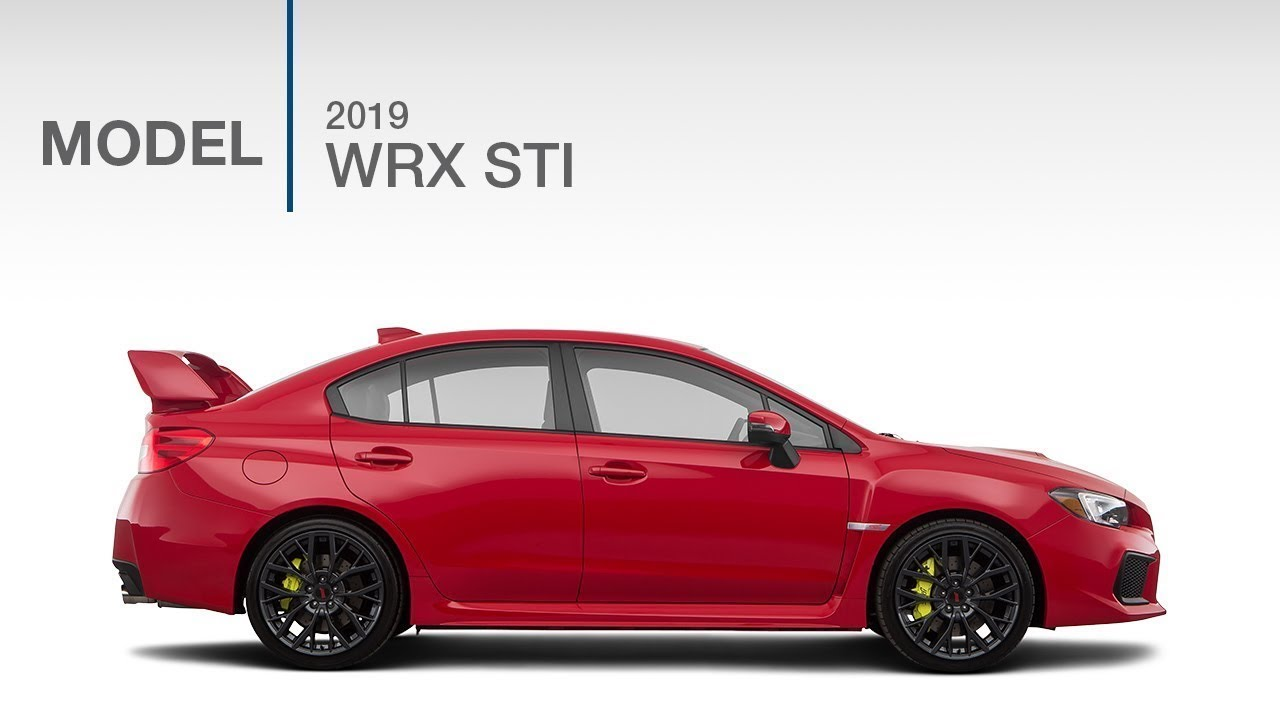 2019 subaru wrx sti model review
