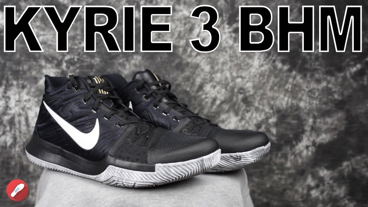 sale retailer eacf0 1861e Nike Kyrie 3 BHM