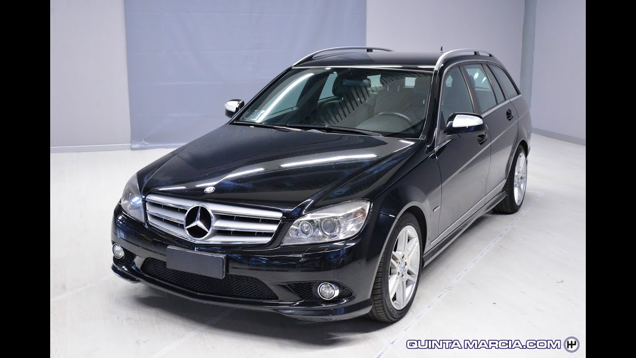 mercedes benz c 220 cdi s w avantgarde amg unicoproprietario youtube. Black Bedroom Furniture Sets. Home Design Ideas