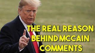 Controversy Erupts As Trump Criticizes McCain