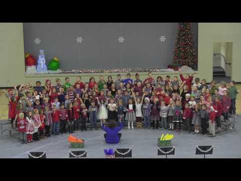 Christmas Program Flora Elementary School 1st & 2nd Grade 2017