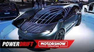 GAC Entranze EV Concept : A crossover van : 2019 Detroit Auto Show : PowerDrift