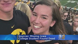 Tragic End For Missing University Of Iowa Student