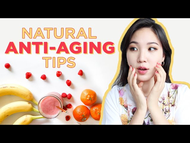 🌱All Natural Anti-Aging Secrets: Diet, Skincare & Lifestyle Tips To Prevent Aging Skin