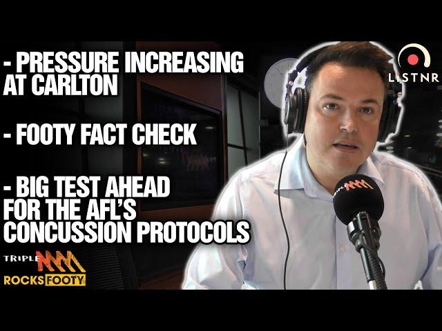 Tom Browne's News   Pressure Increasing At Carlton, Big Concussion Test Ahead   Triple M Footy