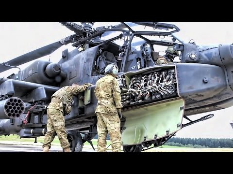 Apache Helicopter • Look Under The Hood & Watch How It Works