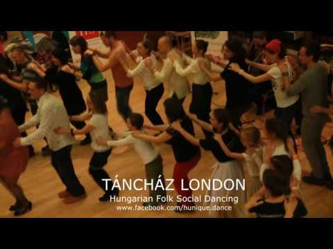 TÁNCHÁZ LONDON | Hungarian Folk Social Dancing 22/10/2016 - video