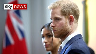 Prince Harry and Meghan to 'begin new life'