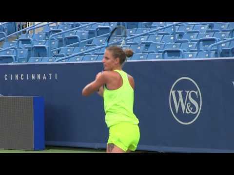 Karolina Pliskova at 2016 Western & Southern Open