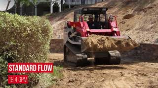 Video still for Takeuchi TL8 Auxiliary Hydraulics Feature