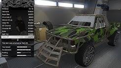 GTA 5 DLC Vehicle Customization (Technical Custom) (Gunrunning)