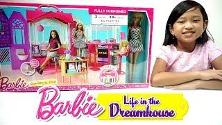 Rumah Rumahan BARBIE 💖 Mainan Anak Kamar Tidur + Kamar Mandi + Dapur Dapuran BARBIE 💖 Cantik Banget
