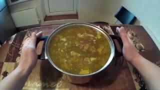 Грибной суп из сухих белых