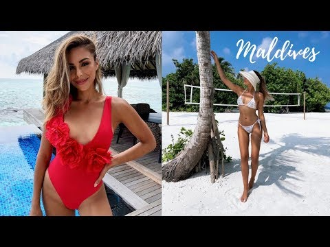 WHAT I ATE, WORE & DID IN THE MALDIVES   Vlog #28   Annie Jaffrey