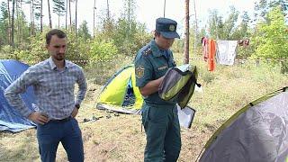 Четверо детей погибли при пожаре в летнем лагере в Хабаровском крае.