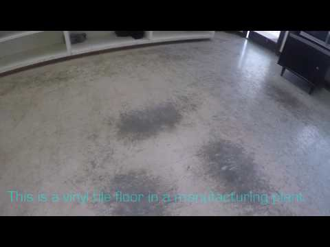 HOW TO STRIP AND WAX A FLOOR, STEP BY STEP WITH TEXT INSTRUCTIONS