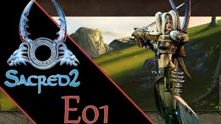 Sacred 2 E01 Seraphim [HD][Gameplay deutsch] Fallen Angel + Ice & Blood