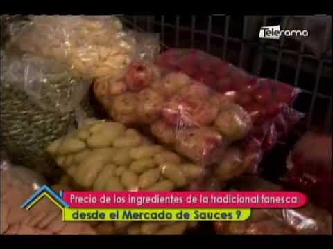 Precio de los ingredientes de la tradicional fanesca desde el mercado de Sauces 9