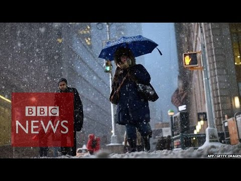 Winter storm Juno: US states 'closed' amid 'historic' blizzard