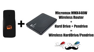Make your External Hard Drive or Pendrive Wirelessly accessible