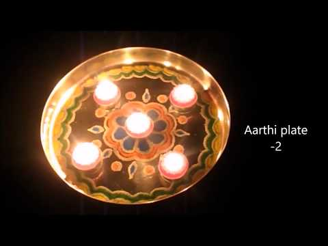 Mangala aarti songs Kannada for Varamahalakshmi | Varalakshmi Vratham decoration ideas | aarti plate