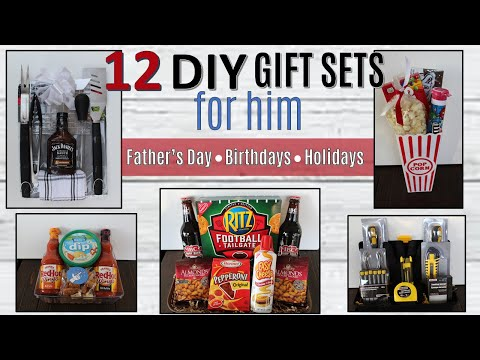 12 DOLLAR TREE DIY Christmas Gift Basket Ideas| Gift Baskets 2019 | $3 to $10 Mostly FOR HIM