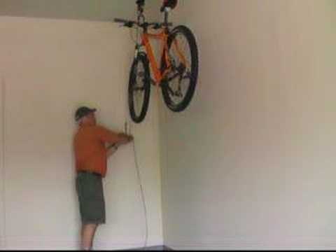 How To Use A Bike Hoist By Rad Cycle Products Youtube