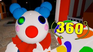 ROBLOX PIGGY CLOWNY JUMPSCARE 360
