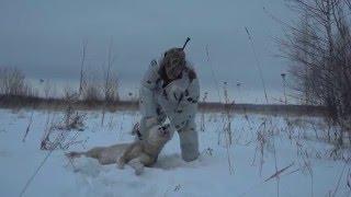 Охота на волка(Проект «Охотничьи экспедиции»: фильм одиннадцатый «По волчьему следу». Волчьи следы можно в изобилии увид..., 2016-01-19T13:49:41.000Z)