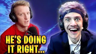 Tfue Explains Why Ninja is The Most SUCCESSFUL Streamer! | Fortnite Highlights & Funny Moments