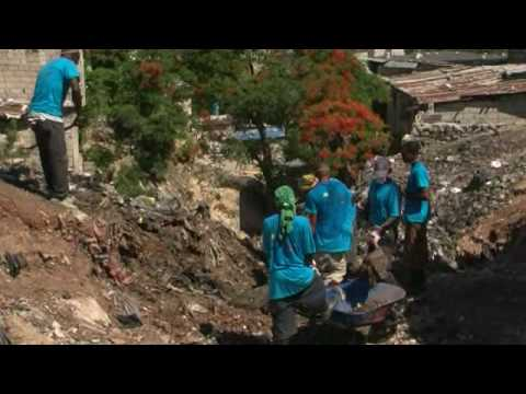 Clearing rubble, rebuilding lives in Haiti