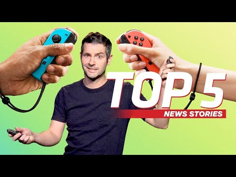 Nintendo's 4.1 Switch Update Fixes Your Joycons  IGN Daily Fix