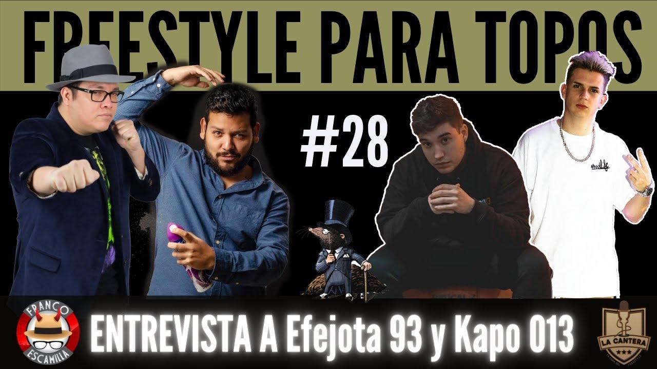 Freestyle para Topos ep 28.- Platicando con Efejota y Kapo y resúmen FMS España