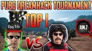 Shroud & DrDisrespect WIN DreamHack PUBG Tournament [Jun-2] Game 3 - PUBG HIGHLIGHTS TOP 1 #117