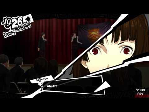 Persona 5 - English Version - Cultural Festival Event w/Makoto