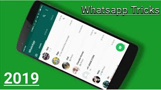 whatsapp new features in Hindi | Tips and Tricks || Hidden Features 2019
