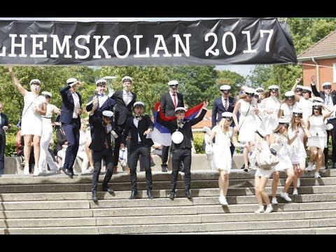 LIVE: Studenterna på Polhem i Lund springer ut