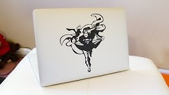 Get awesome decals / stickers for you MacBook from The Decal Guru